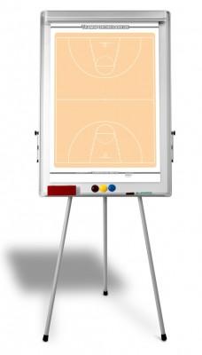 Basketball – Taktik Flipchart inklusive Zubehör