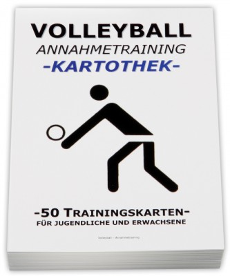 Volleyball-Kartothek-Annahmetraining