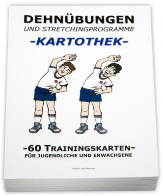 Volleyball-Kartothek-Dehnübungen/Stretching