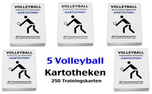 Volleyball – Kartotheken-Set-Volleyballtraining