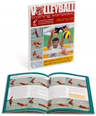 """Volleyballtraining kompakt Band 2 """"Stabilisierung – speziell für Volleyballer"""""""