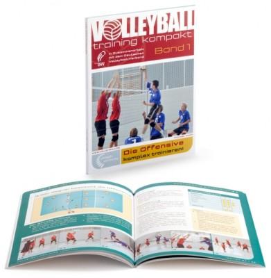 """Volleyballtraining kompakt Band 1 """"Die Offensive – komplex trainieren"""""""