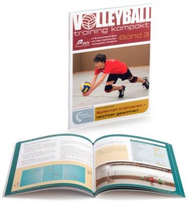 """Volleyballtraining kompakt Band 3 """"Spielnah trainieren – leichter gewinnen"""""""