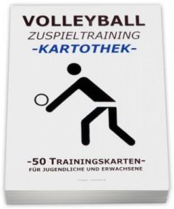 Volleyball-Kartothek Zuspieltraining