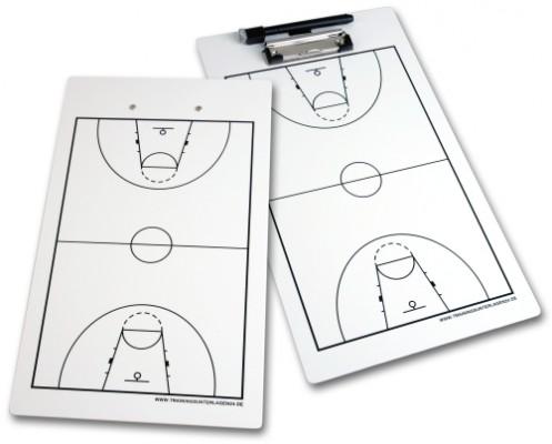 Basketball – Taktikboard-Klemmbrett