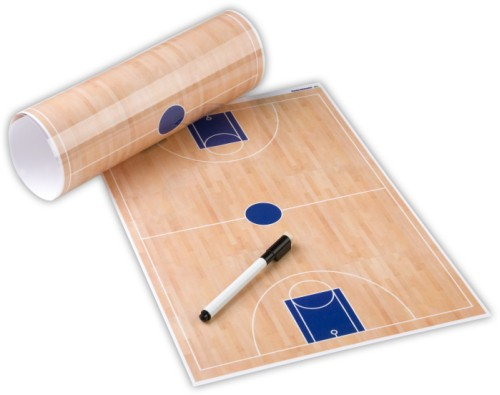 Basketball-Taktikfolie inklusive Zubehör